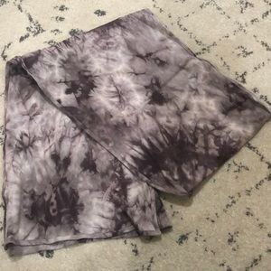 Accessories - Grey tie dye scarf. Excellent condition